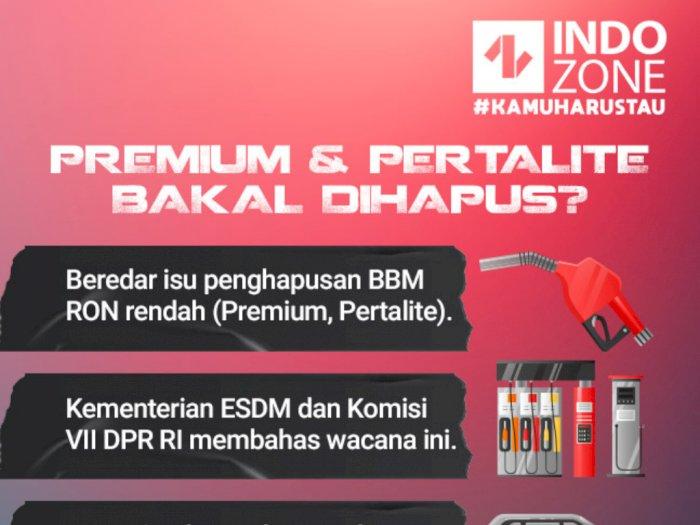 Premium dan Pertalite Bakal Dihapus?
