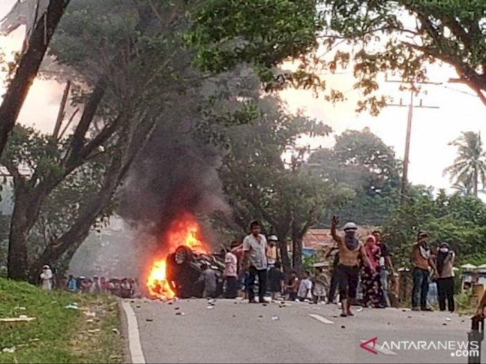 Pelaku Perusakan Saat Kerusuhan di Madina akan Ditindak Tegas