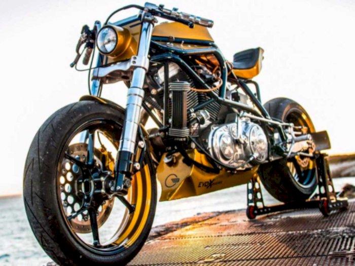 Keren, Cafe Racer Bermesin Harley dari Taverne