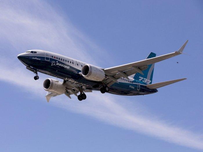 FOTO: Boeing 737 MAX Mulai Lakukan Uji Coba Penerbangan