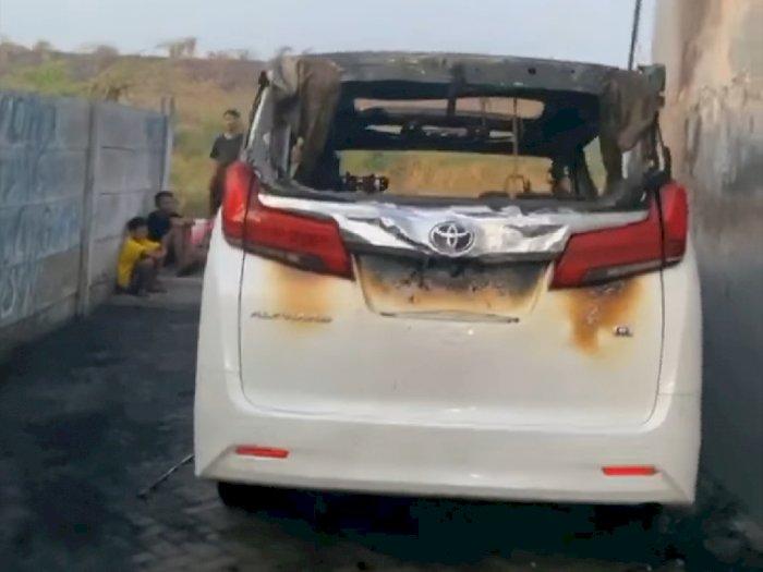 Ngelantur, Terduga Pelaku Pembakaran Mobil Via Vallen Pura-Pura Gila