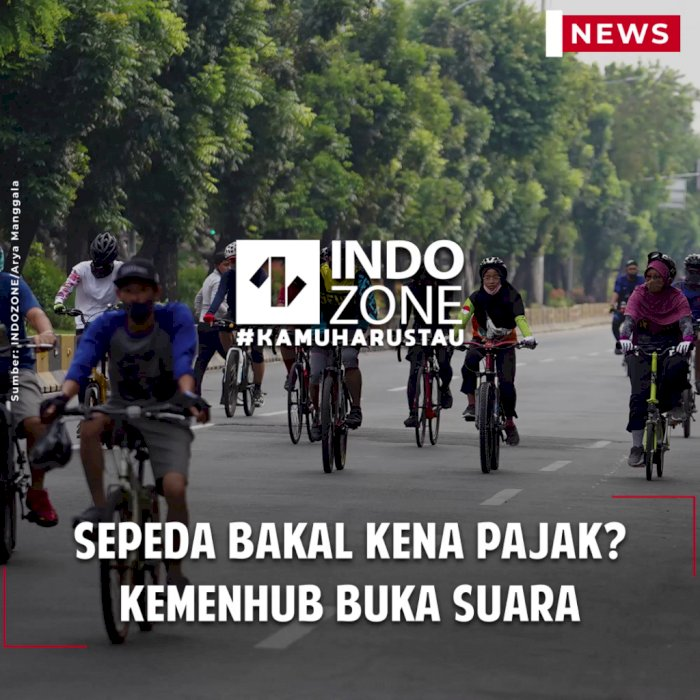 Sepeda Bakal Kena Pajak? Kemenhub Buka Suara