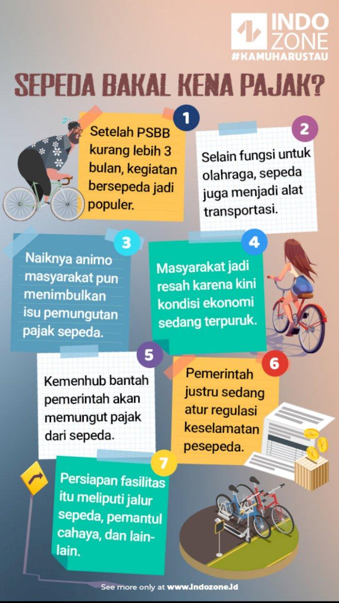 Sepeda Bakal Kena Pajak?