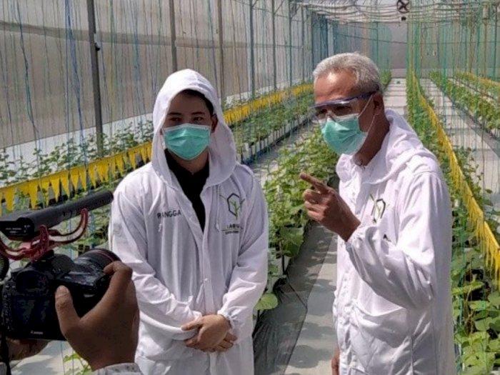 Ganjar Pranowo Dorong Pemanfaatan Teknologi Modern di Bidang Pertanian