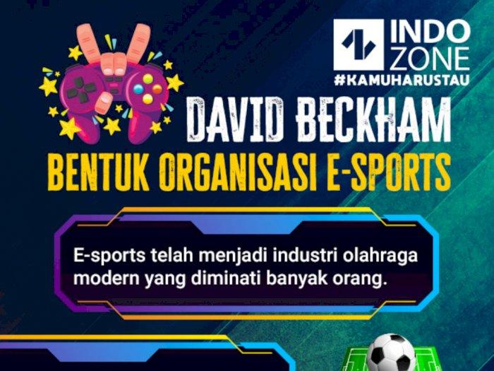 David Beckham Bentuk Organisasi E-sports