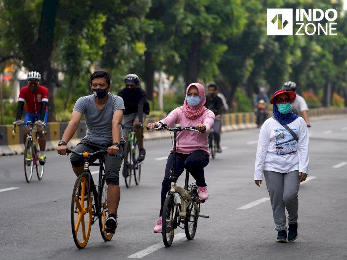 Gubernur DKI Jakarta Soal 32 Kawasan Pesepeda Ganti CFD: Teruskan Itu..