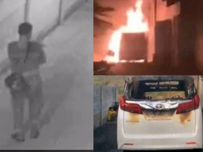 Kronologi Alphard Via Vallen Dibakar, Pelaku Mondar-Mandir Sebelum Ledakkan Mobil