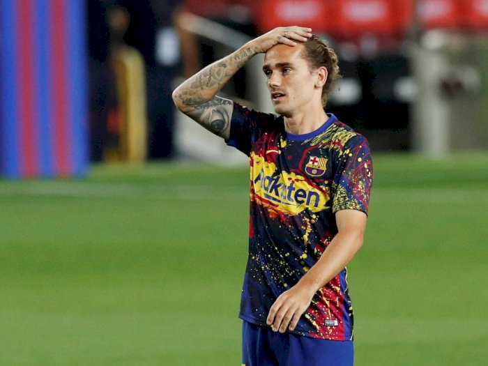 Belum Tampil Maksimal di Barcelona, Ada Apa Dengan Griezmann?