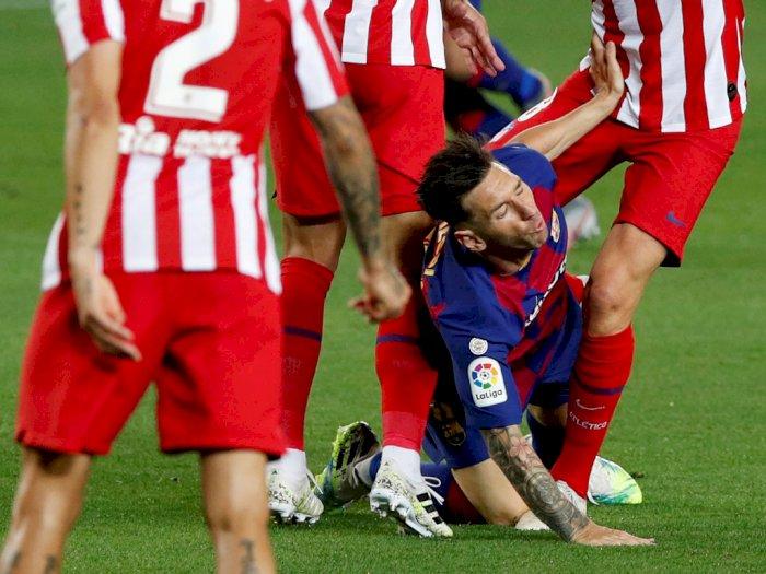 FOTO: Barcelona Ditahan Imbang Atletico Madrid 2-2
