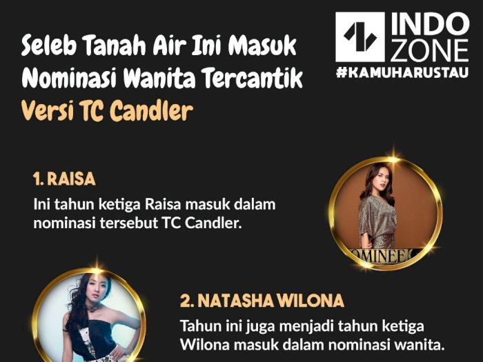 Seleb Tanah Air Ini Masuk dalam Nominasi Versi TC Candler