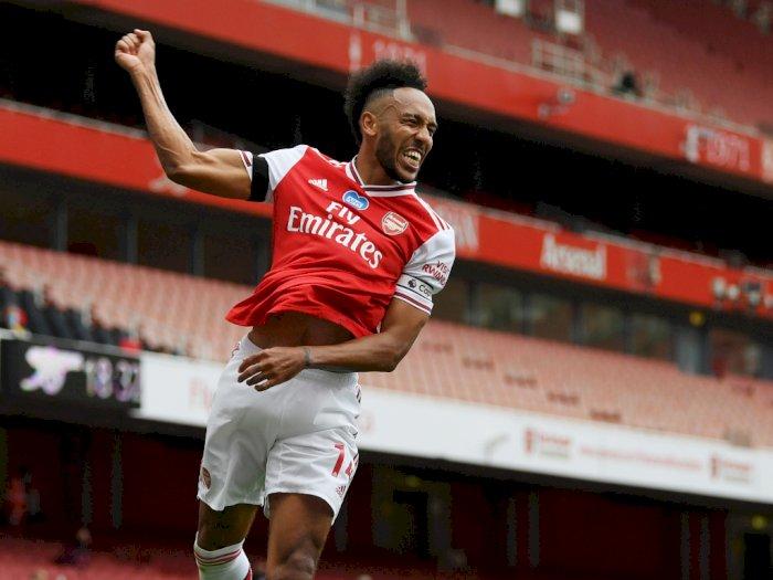 Juergen Klopp Disarankan Rekrut Aubameyang dari Arsenal