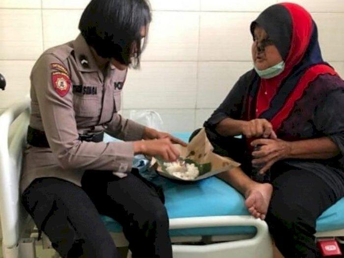 Idap Kanker Wajah, Ibu Tina Tarigan di Medan Dapat Bantuan dari Kapolda Sumut