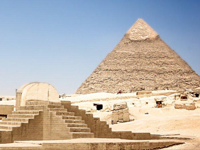 Mesir Kembali Buka Situs Kuno Pramida Usai Tutup 3 Bulan Akibat Covid-19