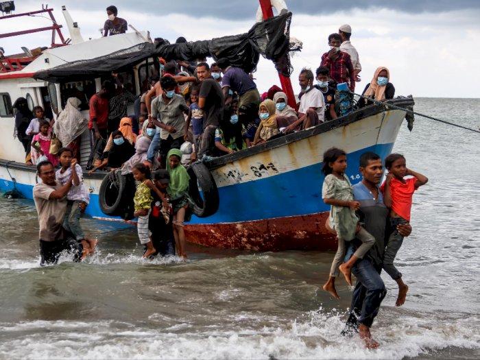 UE Beri Dukungan dan Sambut Baik Keputusan Indonesia Selamatkan Pengungsi Rohingnya