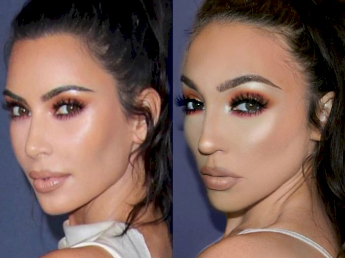 Sering Tiru Penampilan Kim Kardashian, Wanita Ini Mendadak Jadi Selebgram
