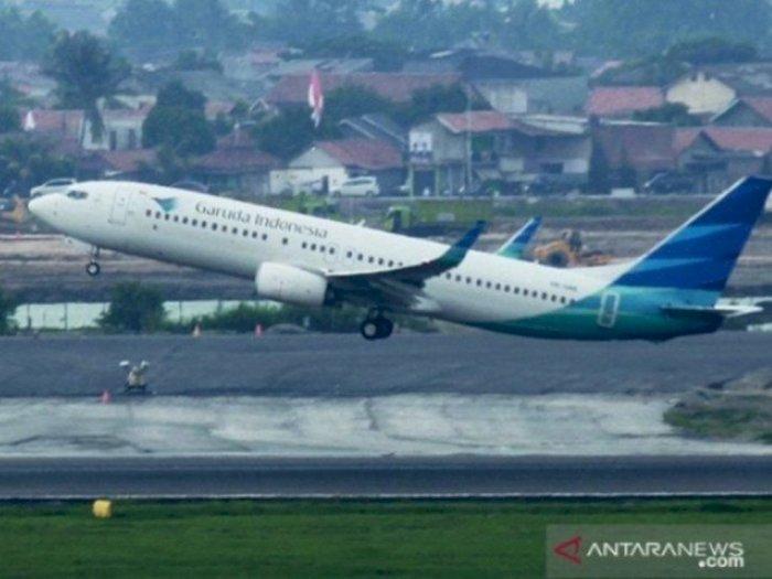 Pesawat Tergelincir di Bandara Sultan Hasanuddin Makassar, Garuda Minta Maaf