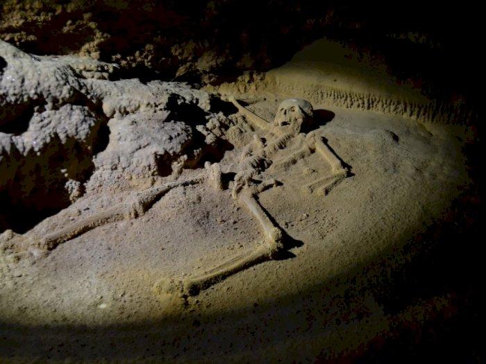 Sisa-sisa Ritual Persembahan Manusia pada Dewa di Gua Actun Tunichil Muknal