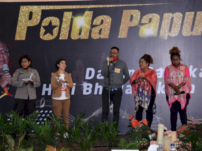 Hari Bhayangkara, Polda Papua Gelar Papua IDOL