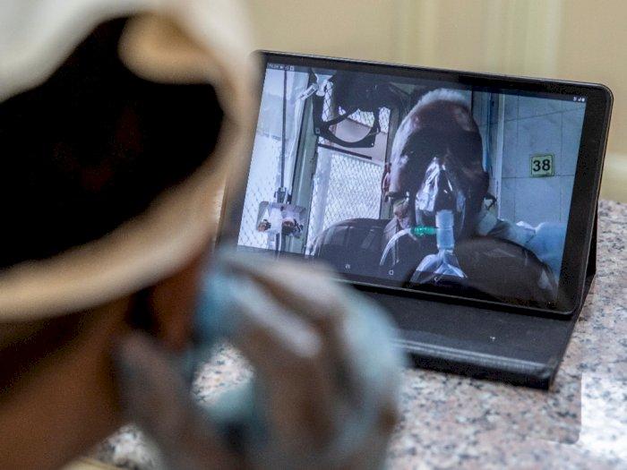 Bantu Komunikasi, RS di India Ini Sediakan Fasilitas Video Call untuk Pasien Covid-19