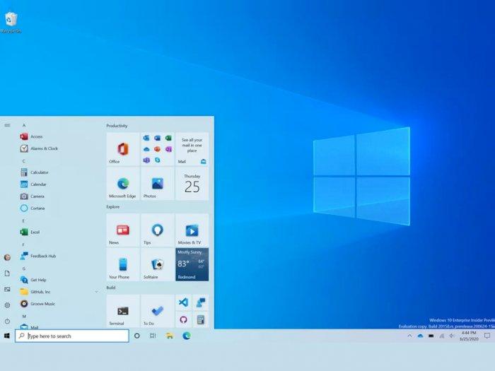 Microsoft Umumkan Desain Start Menu Baru untuk Windows 10, Tampil Lebih Segar!