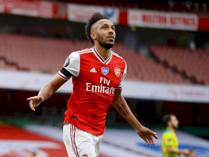 Demi Bertahan di Arsenal, Aubameyang Kabarnya Minta Naik Gaji