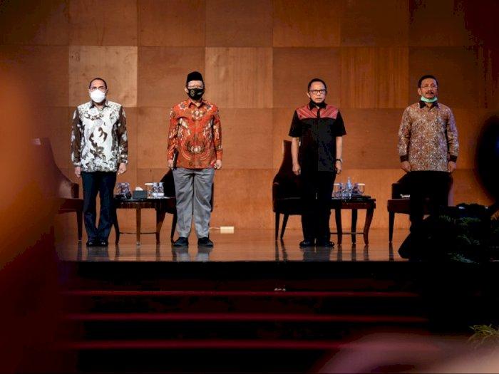 Kunjungan Kerja ke Sumut, Mendagri: Jangan Melihat Pilkada Sarana Penyebaran Virus