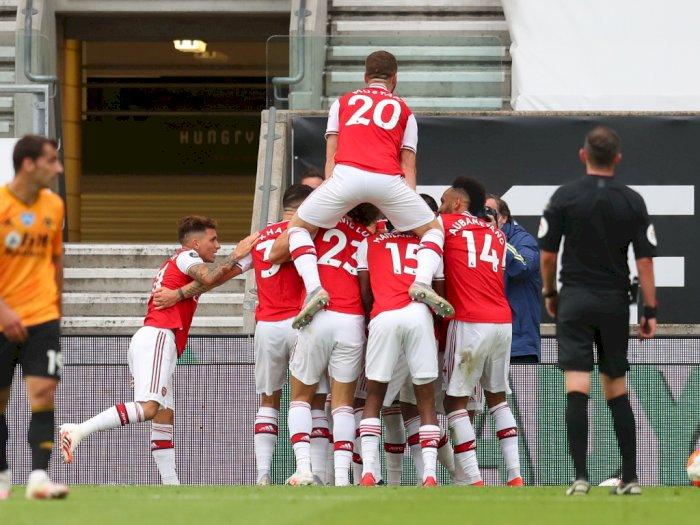 Arsenal Permalukan Wolverhampton Wanderers 2-0