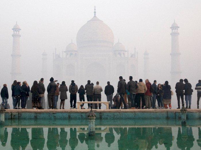 Taj Mahal Kembali Dibuka, Pengunjung Wajib Terapkan Protokol Kesehatan