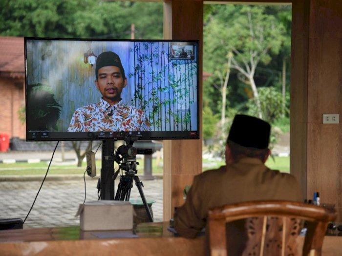 Gubsu Edy Rahmayadi Dakwah Virtual bersama Ustaz Somad, Singgung Anak Muda dan Medsos