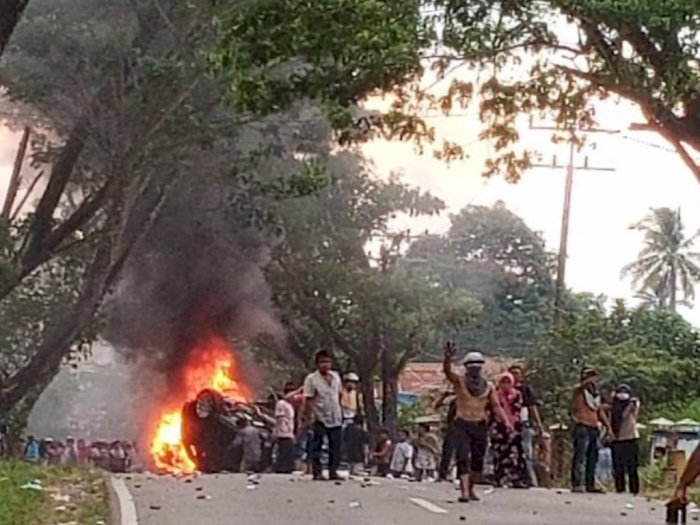 Kerusuhan BLT di Madina, Polisi Tetapkan 17 Orang Tersangka