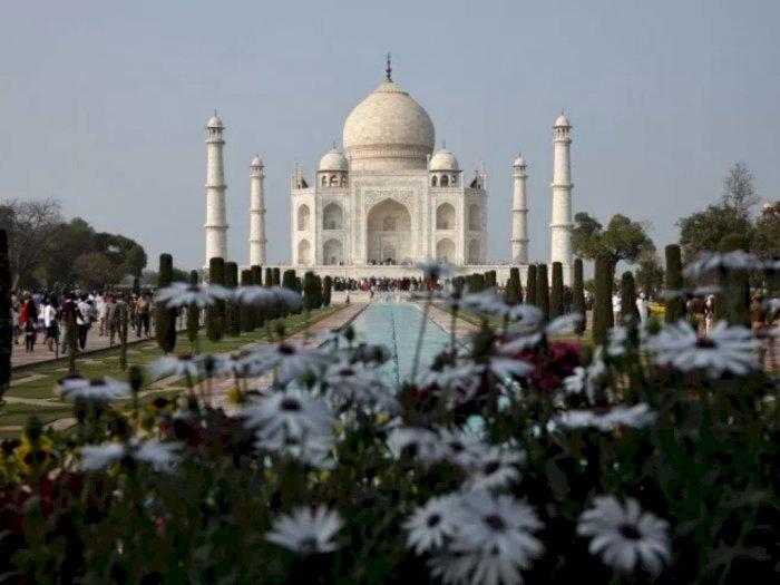 Taj Mahal Kembali Dibuka, Wisatawan Wajib Patuhi Protokol Kesehatan