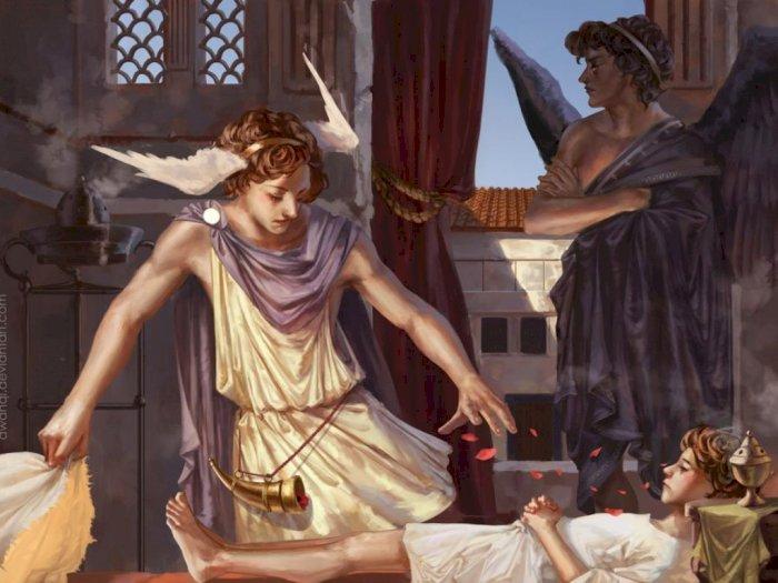 Hypnos, Dewa Penguasa Tidur dalam Mitologi Yunani