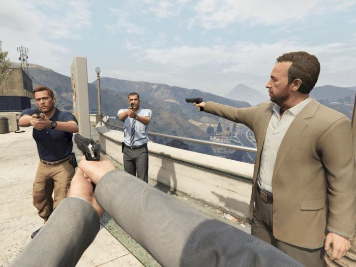 Rockstar Games Diam-Diam Bikin Game Virtual Reality dengan Genre Open-World