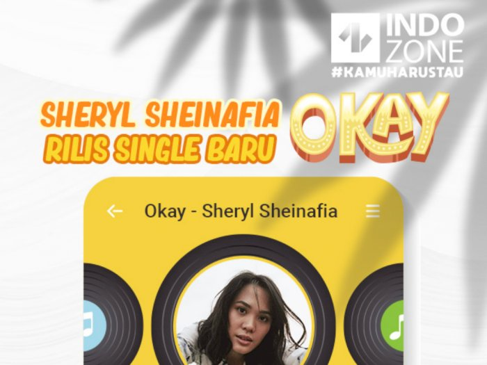 Sheryl Sheinafia Rilis Single Baru Okay