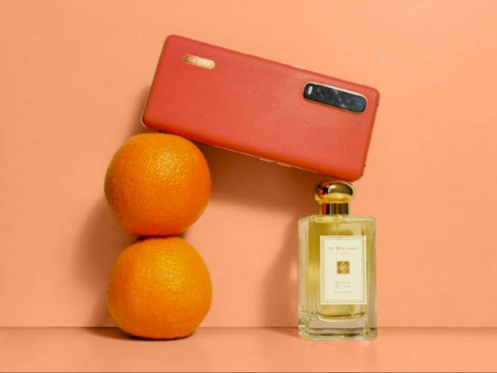 Kolaborasi Unik Antara Smartphone dengan Parfum Beraroma Jeruk