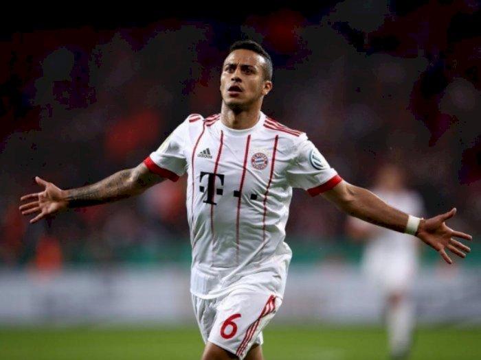 Rumor Transfer Thiago Alcantara ke Liverpool, Ada 2 Alasan Bertolak Belakang