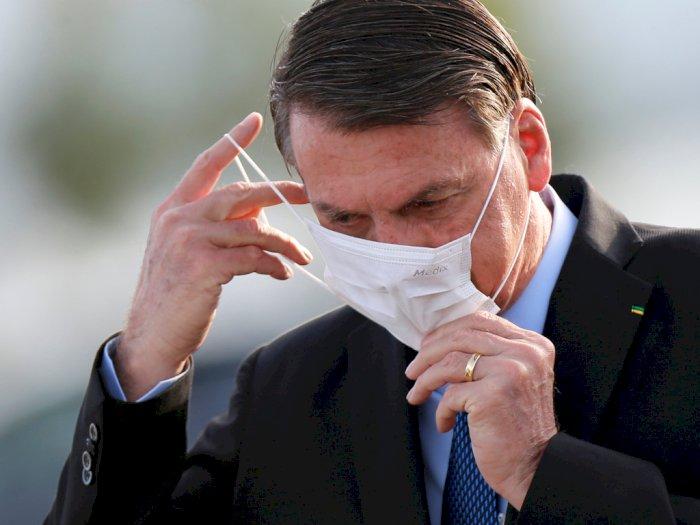 Presiden Brasil Jair Bolsonaro Jalani Tes Corona Lagi Gegara Alami Demam