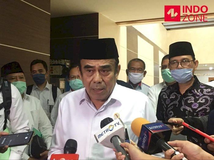 Soal Isu Reshuffle Kabinet, Menag Fachrul Razi: Waduh Saya Enggak Pernah Dengar