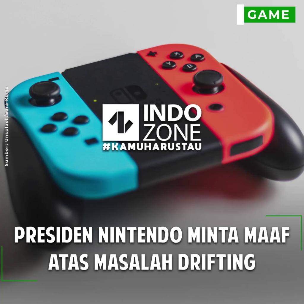Presiden Nintendo Minta Maaf Atas Masalah Drifting