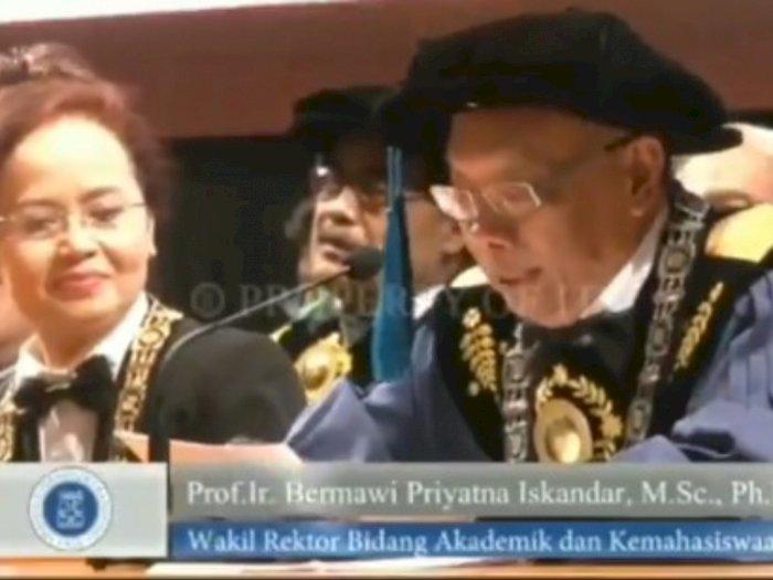 Viral Wakil Rektor Bacakan Kuisioner Nyeleneh Mahasiswa saat Wisuda: Belajar dalam Mimpi