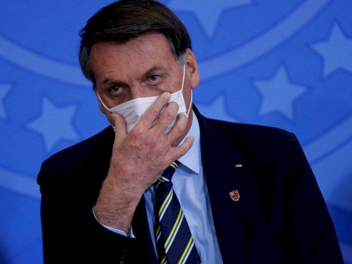 Presiden Brasil Jair Bolsonaro Positif Idap Covid-19