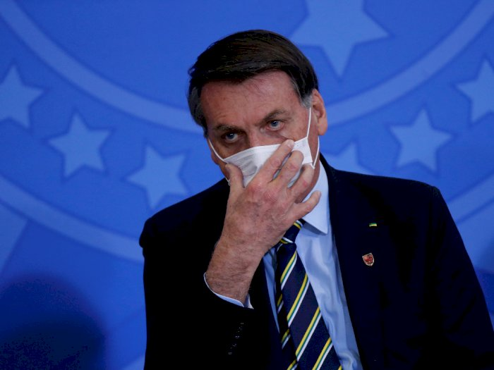 Karma Presiden Brazil Jair Bolsonaro, Dulu Remehkan Corona Kini Terinfeksi Covid-19