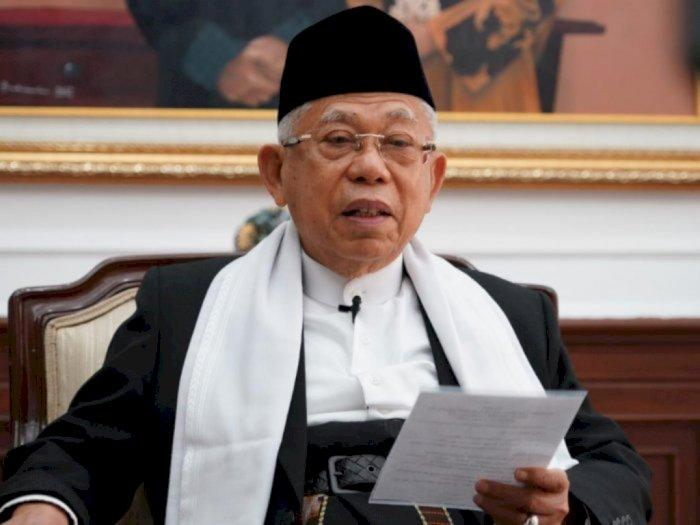 Ma'ruf Amin Minta Masjid Dijadikan untuk Perkuat Ekonomi Umat