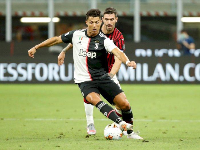 FOTO: AC Milan VS Juventus Berakhir 4-2