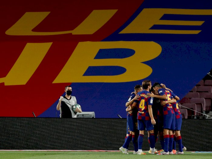 Barcelona VS Espanyol: Blaugrana Menang Tipis 1-0