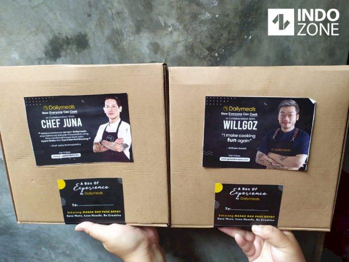 Kolaborasi Masakan Chef Juna X Chef Willgoz, Gaya Memasak Baru ala Milenial
