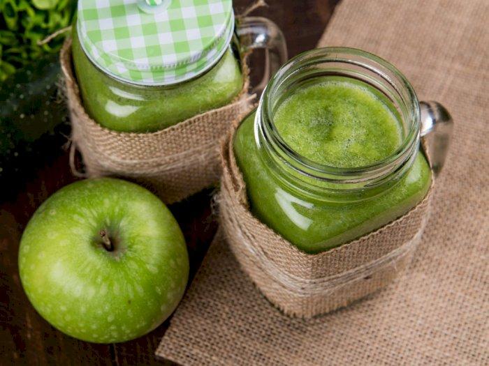 Jus Apel Hijau, Sehat dan Mudah Dibuat