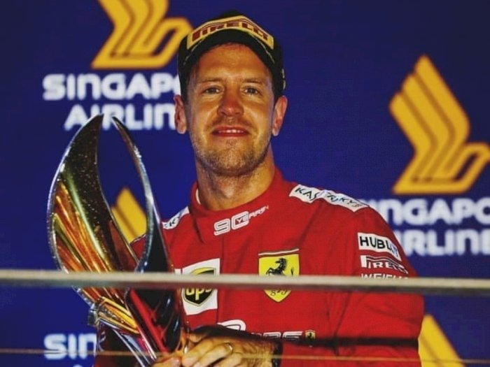 Jika Reunian dengan Red Bull Racing, Max Verstappen Sambut Gembira Sebastian Vettel