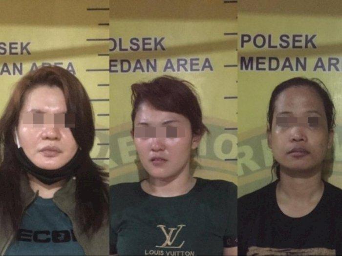 Tiga Perempuan Pengedar Sabu di Medan Ditangkap