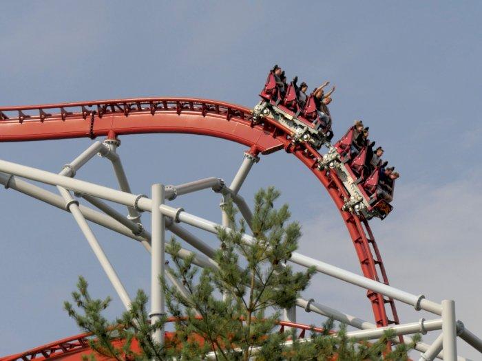 Ada Tiket Gratis Masuk Taman Hiburan, Syaratnya Enggak Boleh Teriak di Roller Coaster